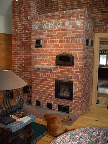Masonry Heaters Bake Ovens Maine Stone And Brick Masonry